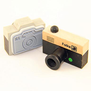 Wood Camera Pattern Stamp