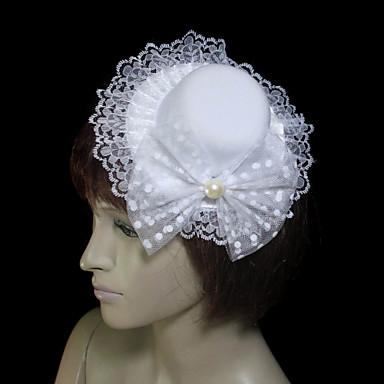 Women's Lace / Tulle / Flannelette Headpiece-Wedding / Special Occasion Fascinators