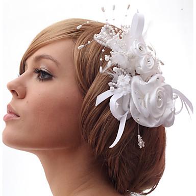 Beautiful Feathers With Imitation Pearls Wedding/Bride Headdress Flower