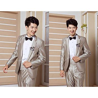 Men 's Classic Tailor Collar Work Wedding Outwear Clothes