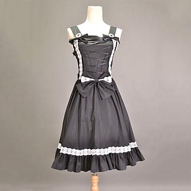 Klasická a tradiční lolita Princess Lolita Princeznovské Dámské Šaty Cosplay Bez rukávů Medium Length