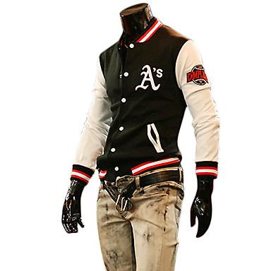Mannes Freizeit Cotton Baseball Jacket (verschiedene Farben)