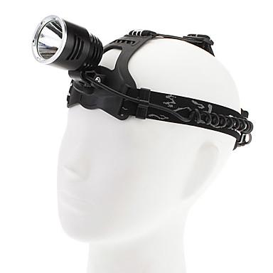 LED Taschenlampen / Stirnlampen LED 1000lm 3 Beleuchtungsmodus Wiederaufladbar / Taktisch Camping / Wandern / Erkundungen / Radsport /