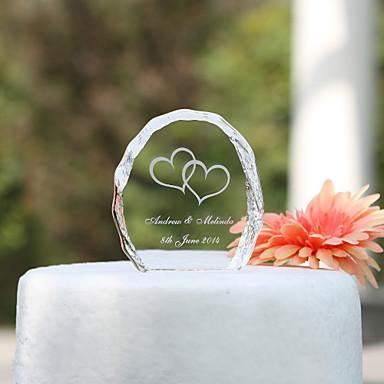Pasta Üstü Figürler Bahçe Teması Tatil Klasik Tema Düğün Malzeme Kristal Parti Parti / Gece ile Evet