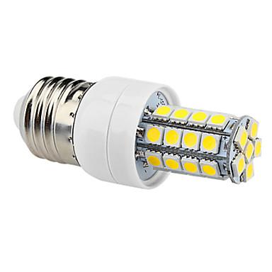 6000 lm E26/E27 Becuri LED Corn T 34 led-uri SMD 5050 Alb Natural AC 220-240V