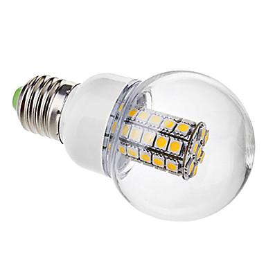 3000 lm E26/E27 LED Küre Ampuller G60 47 led SMD 5050 Sıcak Beyaz AC 220-240V