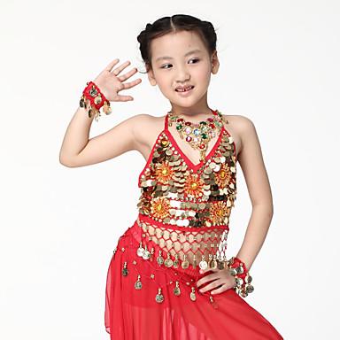 Dans Aksesuarları Mücevher Eğitim Şifon Madeni Para