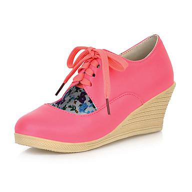 Kunstleer sleehak Ronde teen met holle-out party / avond schoenen (meer kleuren)