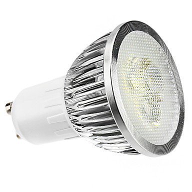 GU10 LED bodovky MR16 3 lED diody High Power LED Stmívatelné Přirozená bílá 6000lm 6000KK AC 220-240V