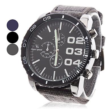 V6 Pánské Vojenské hodinky Náramkové hodinky Křemenný Japonské Quartz Černá / Modrá / Šedá Hodinky na běžné nošení Analogové Přívěšky - Černá Šedá Modrá Dva roky Životnost baterie / Mitsubishi LR626