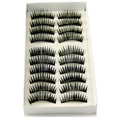 Kirpik Takma Kirpiker 20 pcs Hacimlendirilmiş Kirpik Klasik Kalın Günlük Makyaj Kozmetik