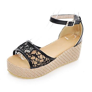 Lace Platform Sandalen mit Schnalle Partei / Abendschuhe (weitere Farben)