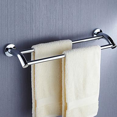 Håndklædestang Høj kvalitet Moderne Rustfrit Stål 1 stk - Hotel bad 2-tårn bar