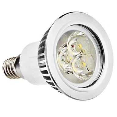 3 W 250 lm E14 / GU10 LED-spotpærer MR16 3 LED perler Høyeffekts-LED Varm hvit / Naturlig hvit 100-240 V
