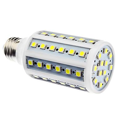 900lm E26 / E27 Becuri LED Corn 60 LED-uri de margele SMD 5050 Alb Natural 220-240V / 110-130V / # / #