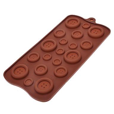 coacere Mold Ciocolatiu Plăcintă Biscuiți Silicon Ecologic Paște Calitate superioară