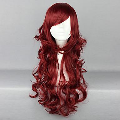 Lolita perika Sweet Lolita Lolita Lolita Perika 70 CM Cosplay Wigs Jednobojni Wig Za