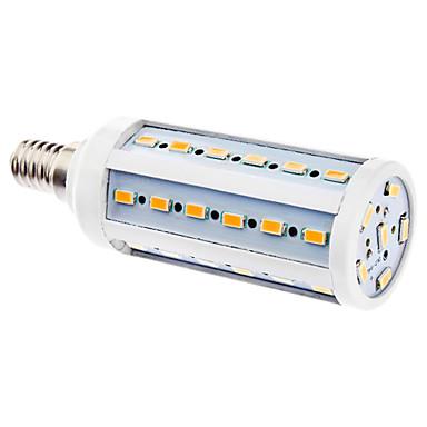 E14 6W 42x5630SMD 480-540LM 2500-3500K teplá bílá LED žárovka Corn (220-240V)