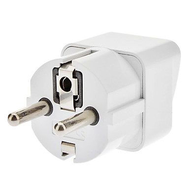EU Travel AC Power Adapter Weiß