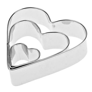 Backwerkzeuge Edelstahl Umweltfreundlich / Valentinstag Kuchen / Plätzchen / Obstkuchen Baking & Pastry Spachteln 3 Stück