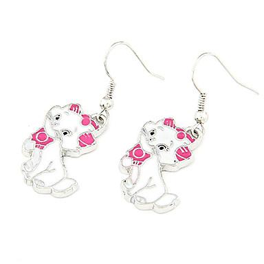 Damen Katze Tropfen-Ohrringe - Personalisiert Modisch Tier Ohrringe Für Party Alltag