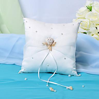 Pterry Ring Polštář s autentickými Seashell