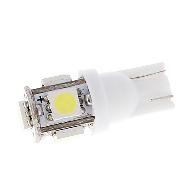 5 LED-T10 5050 Wedge Bec auto Turn de strungarie Light 2 buc