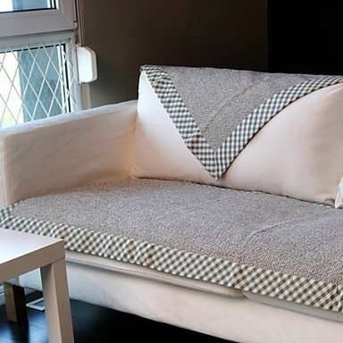 Contemporary Woven Jacquard Sofa Cover Print Embossed Slipcovers