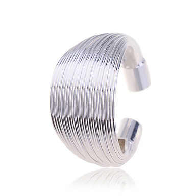 European Style Fashion 925 Silver Plating Razor Wire Ring