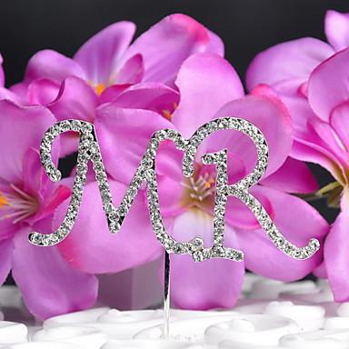 elmas elmas düğün ile kek topper monogram düğün