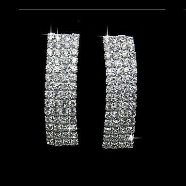 Fashionable Alloy With Rhinestone Women's Earrings