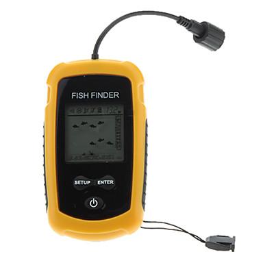 Fischfinder Unterwasser-Kamera Tragbar LCD 30 M 4×AAA Kunststoff