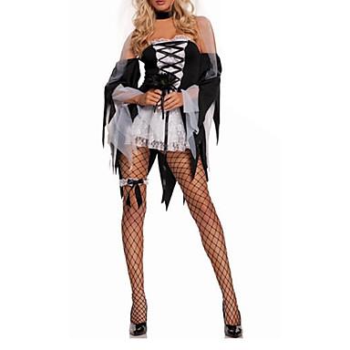 Costumi da vampiro Costumi Cosplay Vestito da Serata Elegante Donna Halloween Feste/vacanze Costumi Halloween Collage