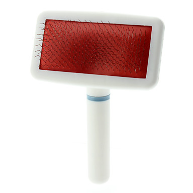 Grooming Aids Combs Plastic White