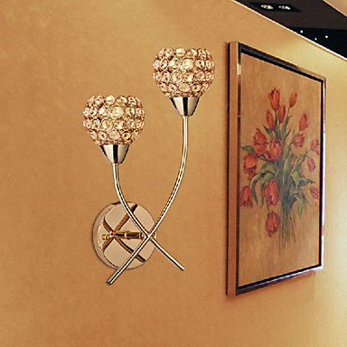 Modern / Contemporary Wall Lamps & Sconces Metal Wall Light Max 40W