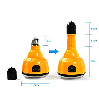 E27 4W LED alb bec reîncărcabilă de urgență Light lanterna proiector cu telecomanda (Cis-57183)