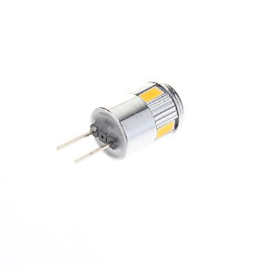 1 W 70-100 lm G4 LED szpotlámpák 6 led SMD 5730 Meleg fehér Hideg fehér AC 12V