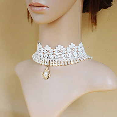 Nakit Classic/Tradicionalna Lolita Ogrlica Princeza Lolita Pribor Ogrlice Print Za Čipka Umjetna Gemstones Legura