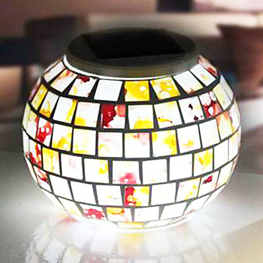 multi color outdoor solar jar design. Mosaic Glass RGB Color-Changing LED Solar Powered Garden Light -Solar Table Light- Small Night In Jar Design 790301 2018 \u2013 $56.99 Multi Color Outdoor