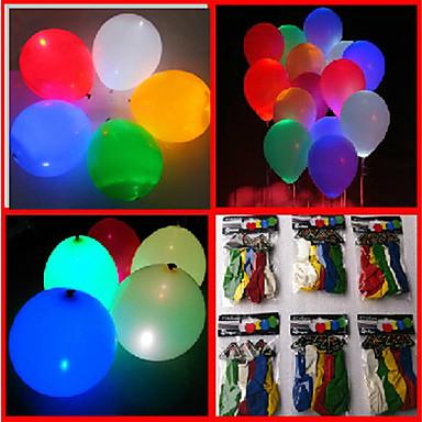 voordelige Oplichtend speelgoed-Ballonnen Feest Opblaasbaar Speeltjes Geschenk
