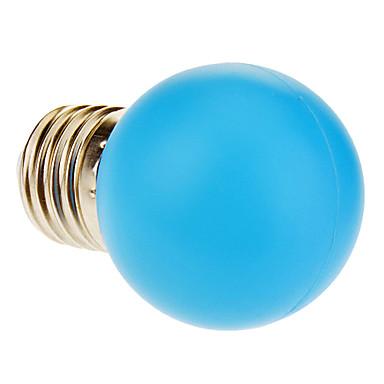 1W E26/E27 Bulb LED Glob 12 70-90 lm Albastru AC 220-240 V