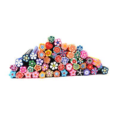 20 Diğer Süslemeler Polimer Nail Art Çiçek Karikatür Moda Sevimli Yüksek kalite Günlük