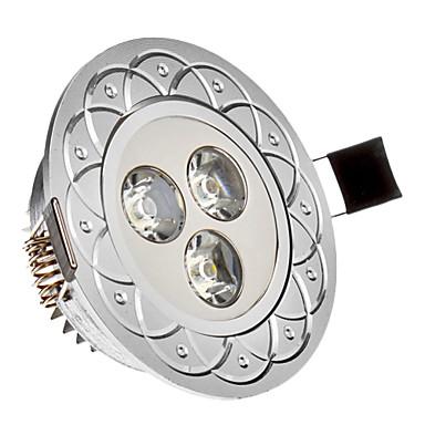 285 lm Zápustná světla 3 lED diody High Power LED Chladná bílá AC 85-265V