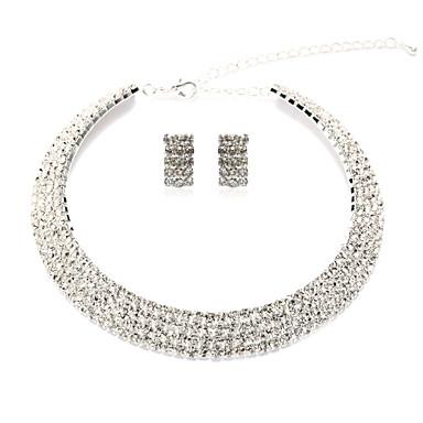 Pentru femei Ștras de Mireasă Nuntă Petrecere Ocazie specială Zi de Naștere Logodnă Diamante Artificiale Aliaj