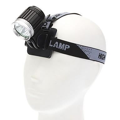LED svítilny Svítilny do ruky LED 3600 Lumenů 4.0 Režim Cree XM-L T6 pro Kempování a turistika Každodenní použití Cyklistika Lov