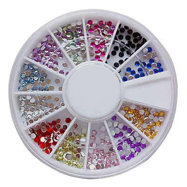 1 Rhinestones Nail Jewelry Glitter & Poudre Other Decorations Decoration Kits Abstract Fashion Lovely Wedding Punk High Quality Daily