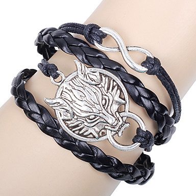 Bracelet Leather Bracelet Others Unique Design Fashion Birthday Gift Party Jewelry Gift1pc