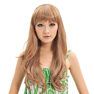 Capless Synthetic Long Average Straight Stylish Women Wigs