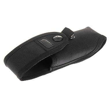 Beskyttende Taske Med Batteri Side Lomme For C8 Lommelygte (Sort)