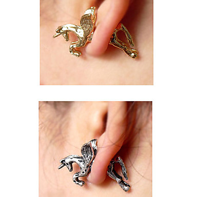 Earring Stud Earrings Jewelry Women Daily Alloy 1pc Gold / Silver